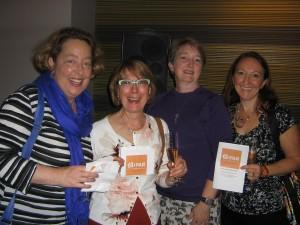 Reception 2016-25-Carolyn Shields, Julie Bitzer, Kelley Westenhoff, and Melissa Romano