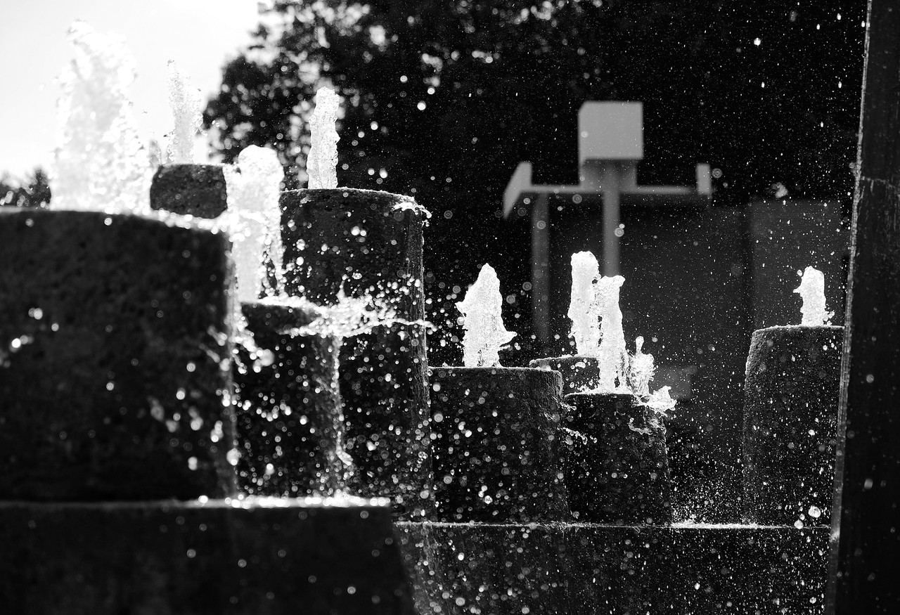 Plaza Fountain - Charlotte Geary