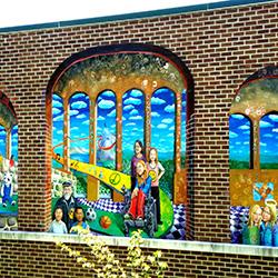 Outdoor Wall Mural