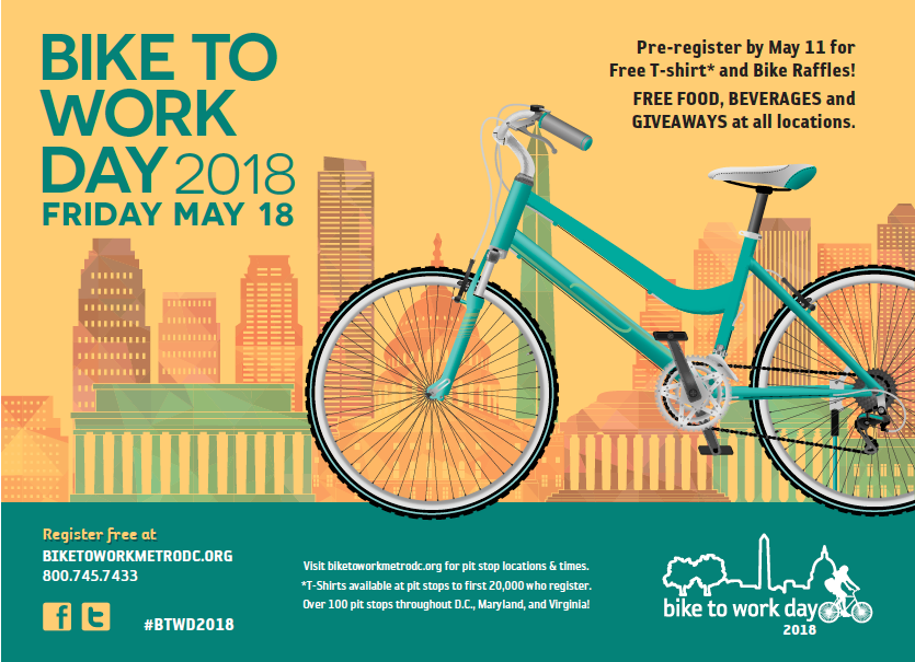 Image result for bike to work day 2018 images