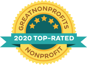 2020 Top-Rated Great Non-Profits Awards Badge