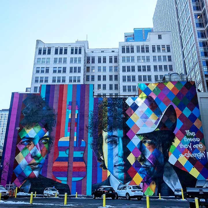 Public Art Reston - Bob Dylan